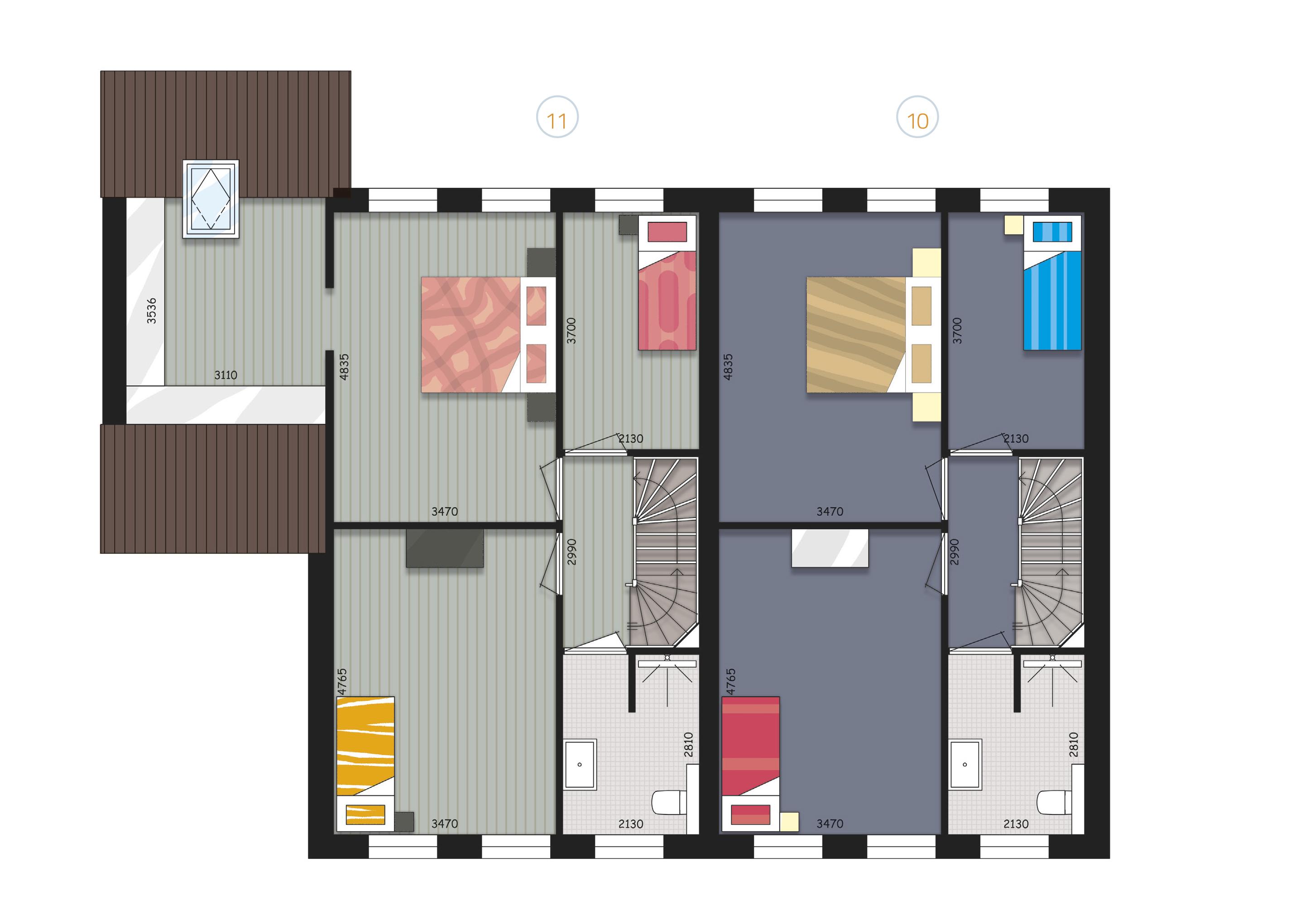 Verdieping Blok Csp - Zijderlaan Polsbroek